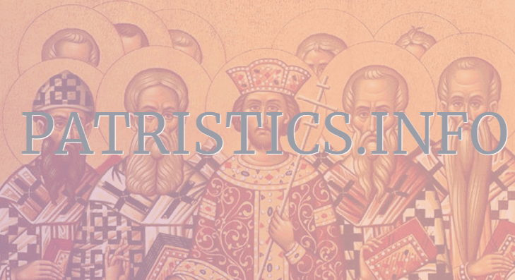 Header Image for: Patristics.info has launched!